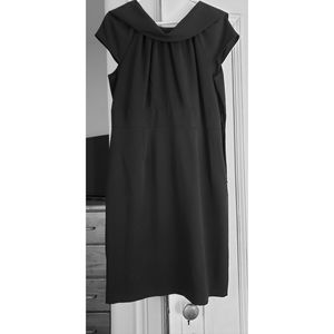 Black dress, size 10.